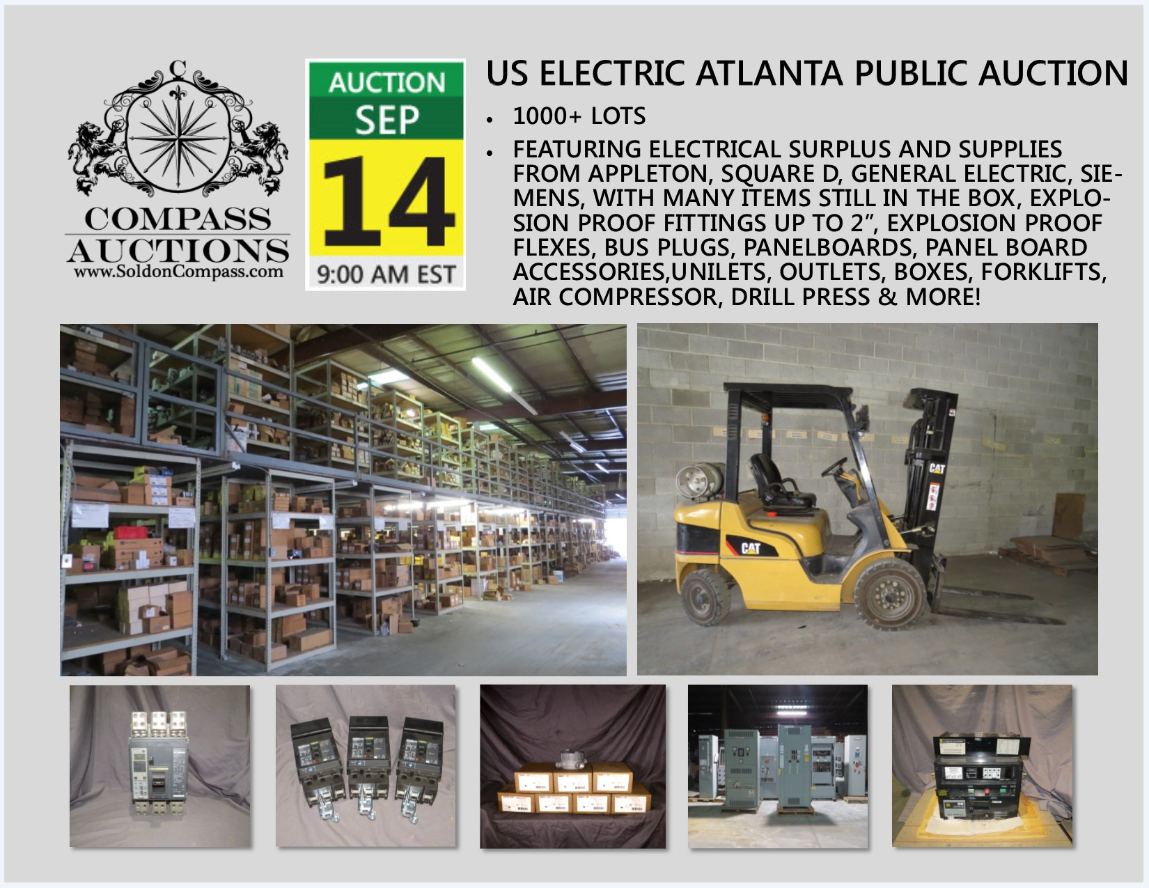 US Electric Atlanta Public Auction September 14 2017
