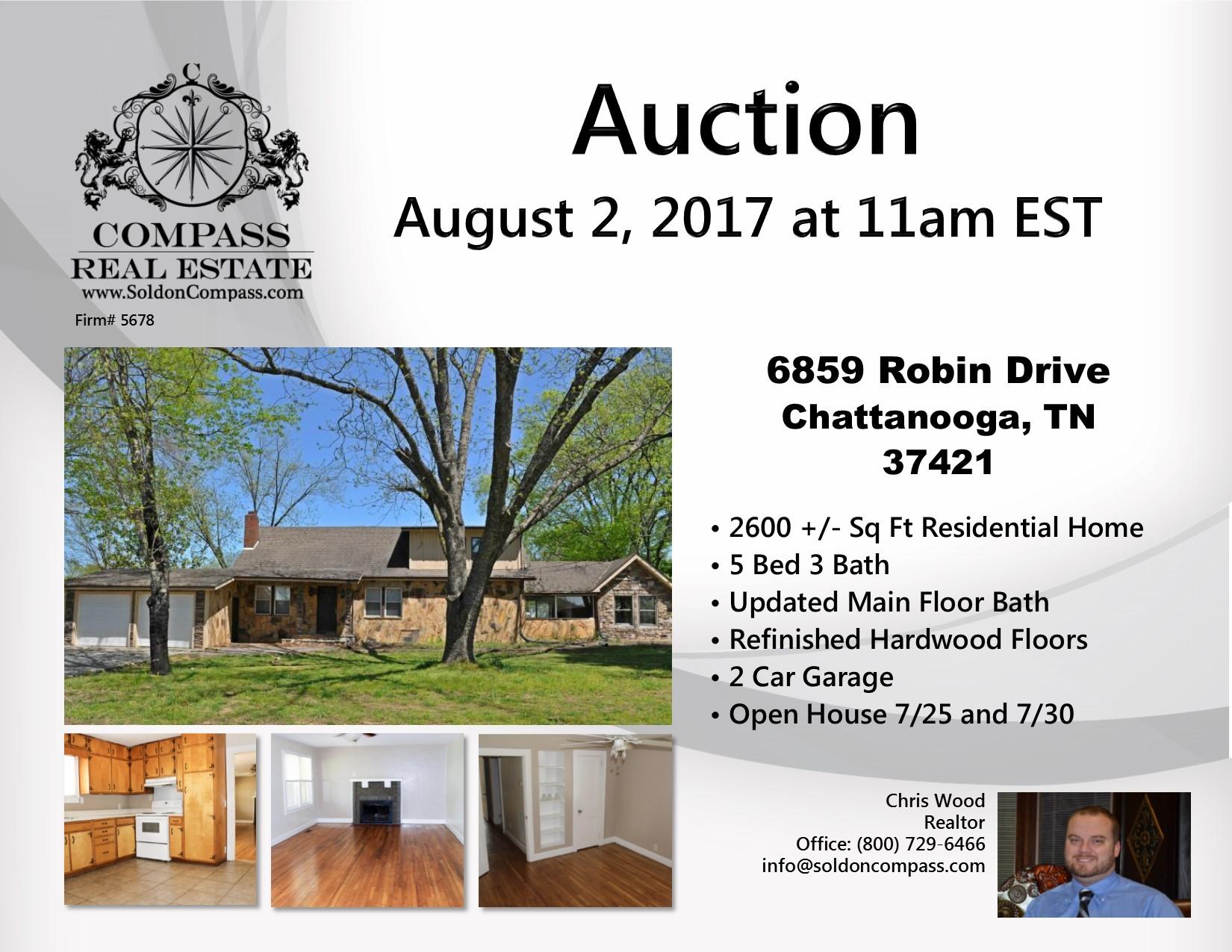 6859 Robin Drive Chattanooga TN