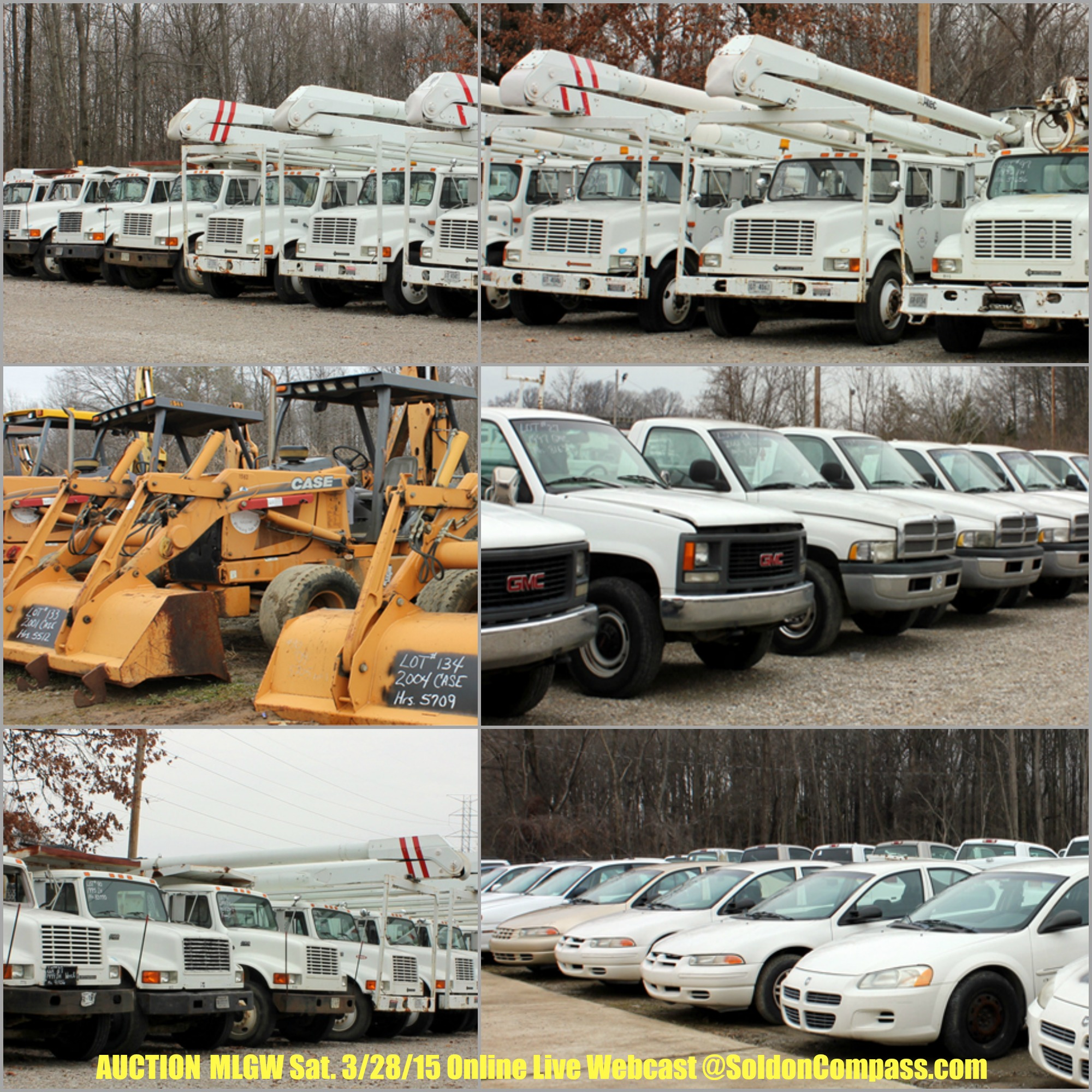 AUCTION | MLGW | Memphis Light Gas and Water Equipment & Vehicles | SoldonCompass.com