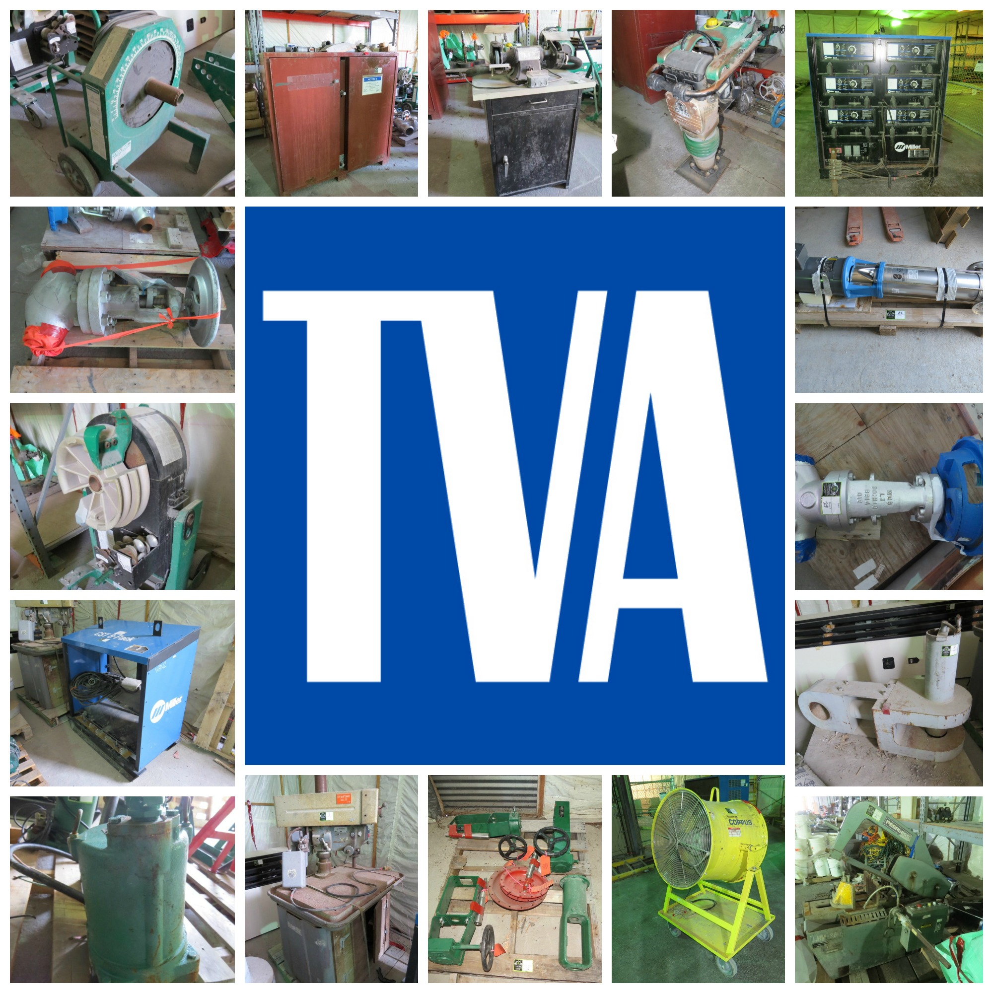 TVA AUCTION TRIPLE HEADER 3 DAYS - 3 AUCTIONS |6-17-15 | SoldonCompass.com