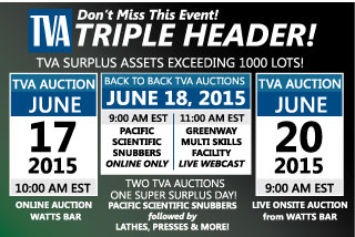 TVA AUCTION | TRIPLE HEADER - JUNE AUCTION EVENT | SOLDONCOMPASS.COM