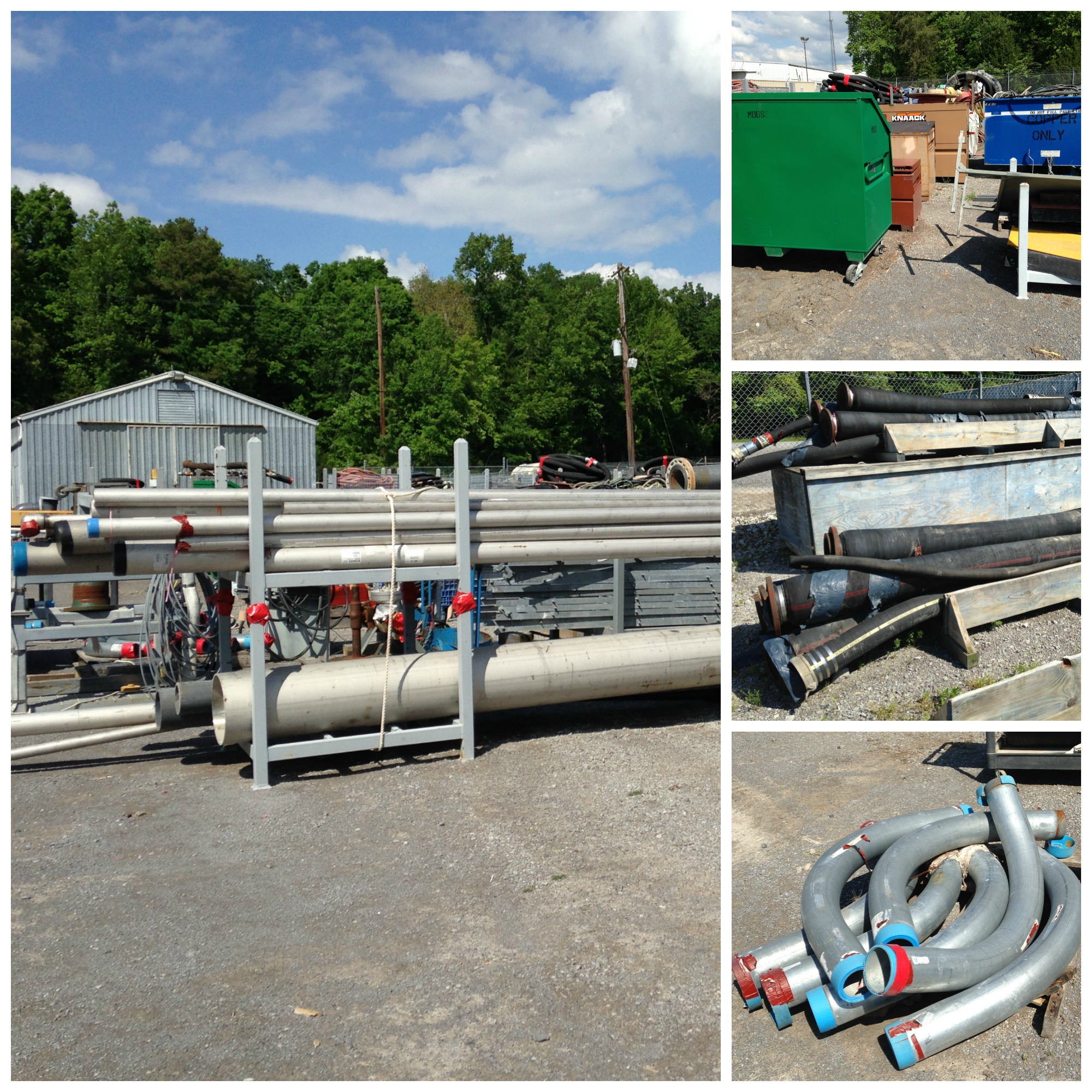 May 2015 TVA auction pipe hoses job boxes