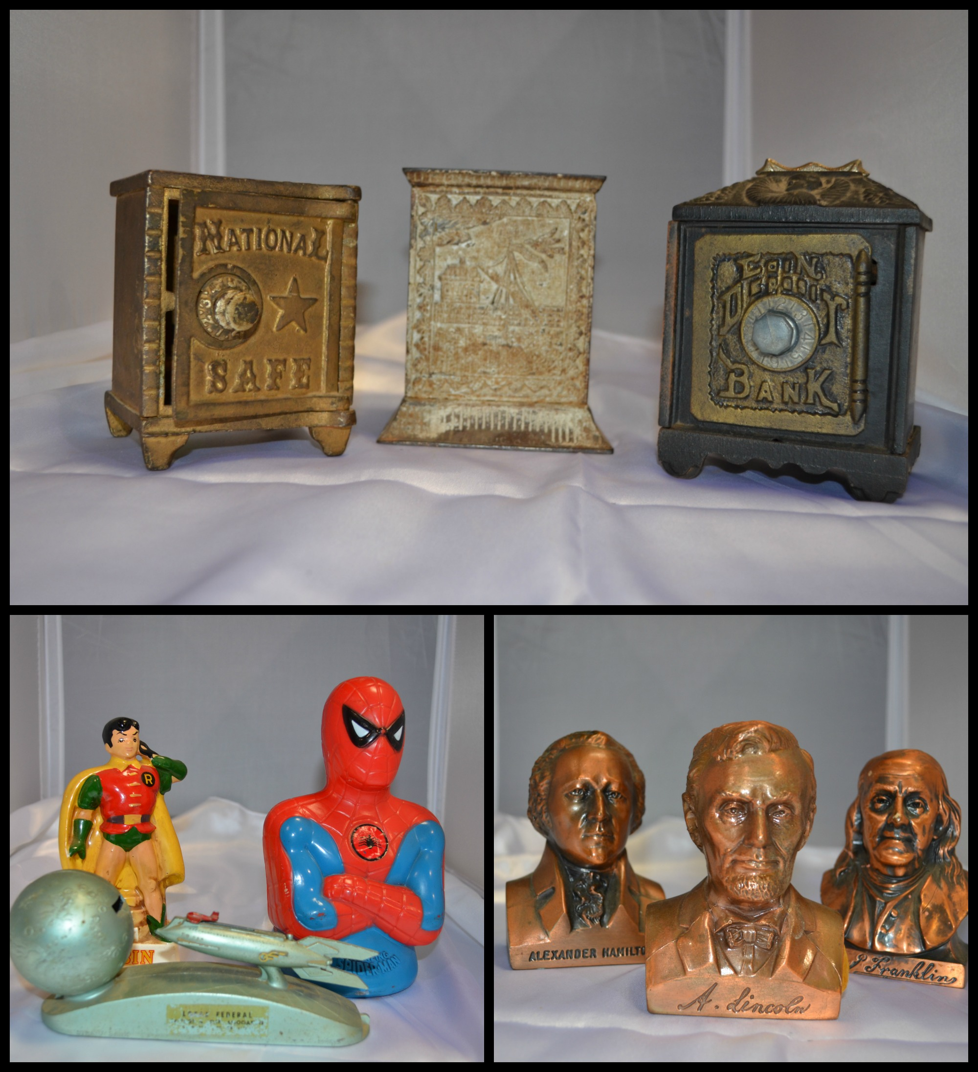 coin banks antiques