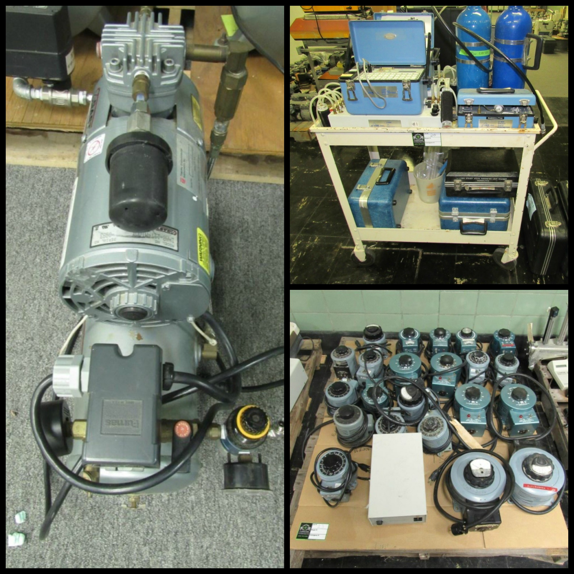TVA lab equipment auction