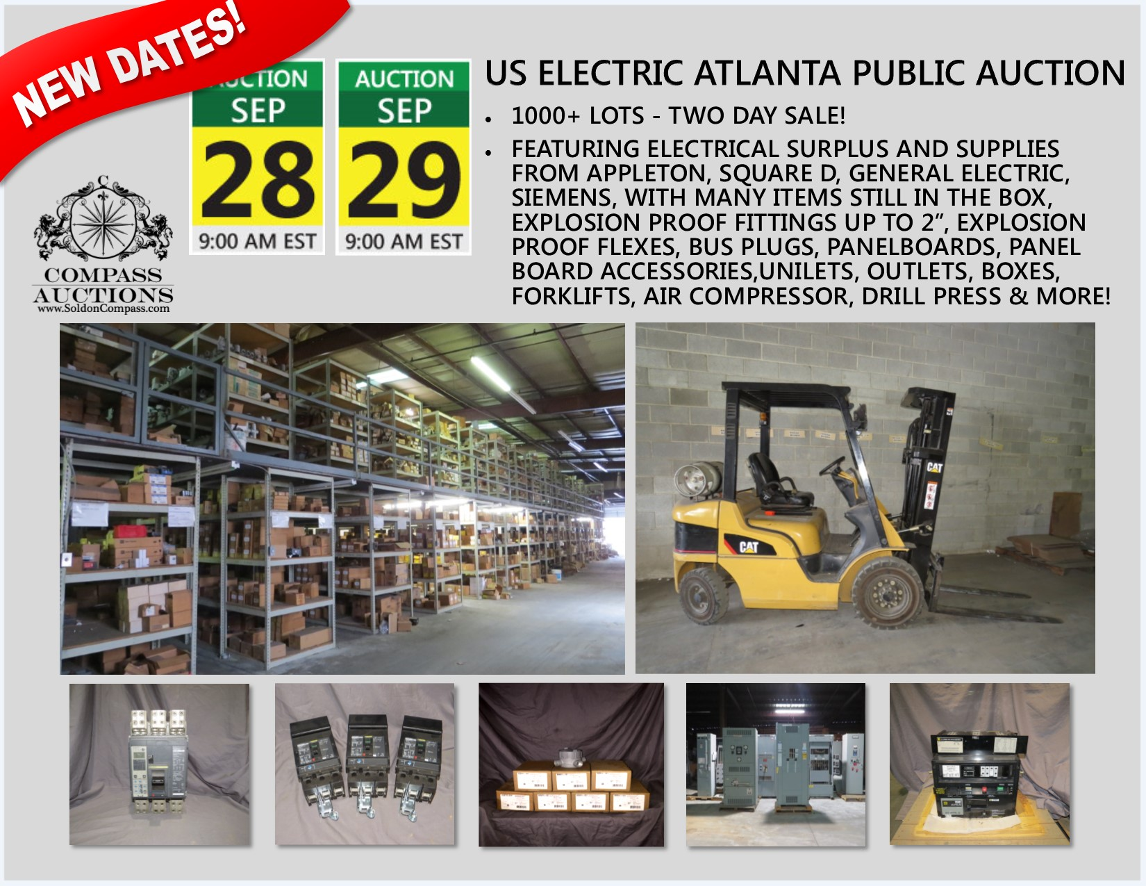 US ELECTRIC ATLANTA AUCTION SEPTEMBER 2017