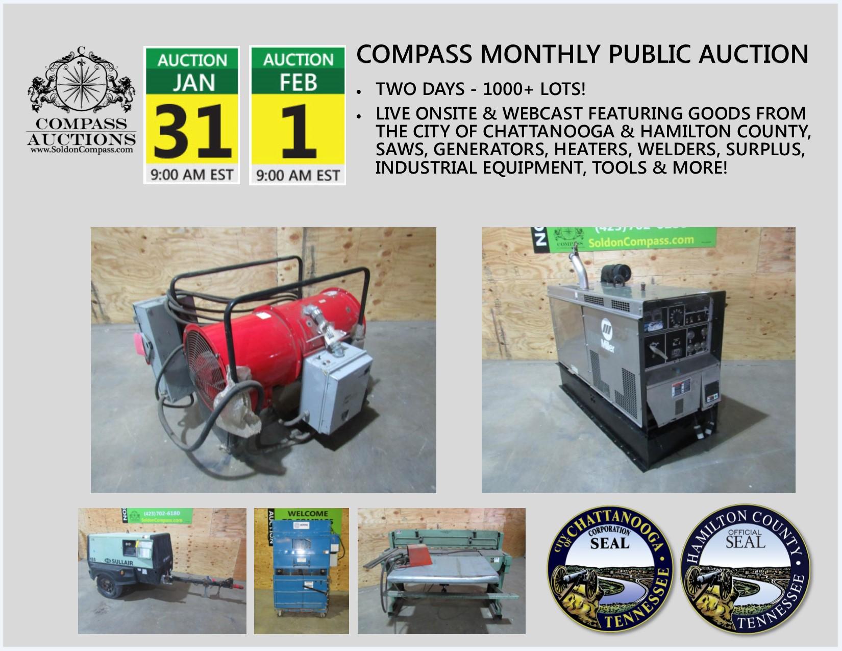 Compass Public Auction January 2018