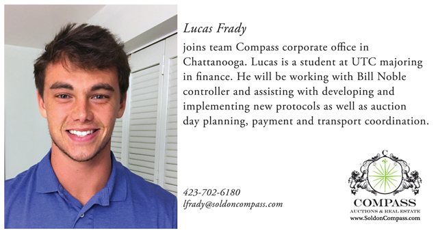 Team Compass Auctions Real Estate Lucas Frady