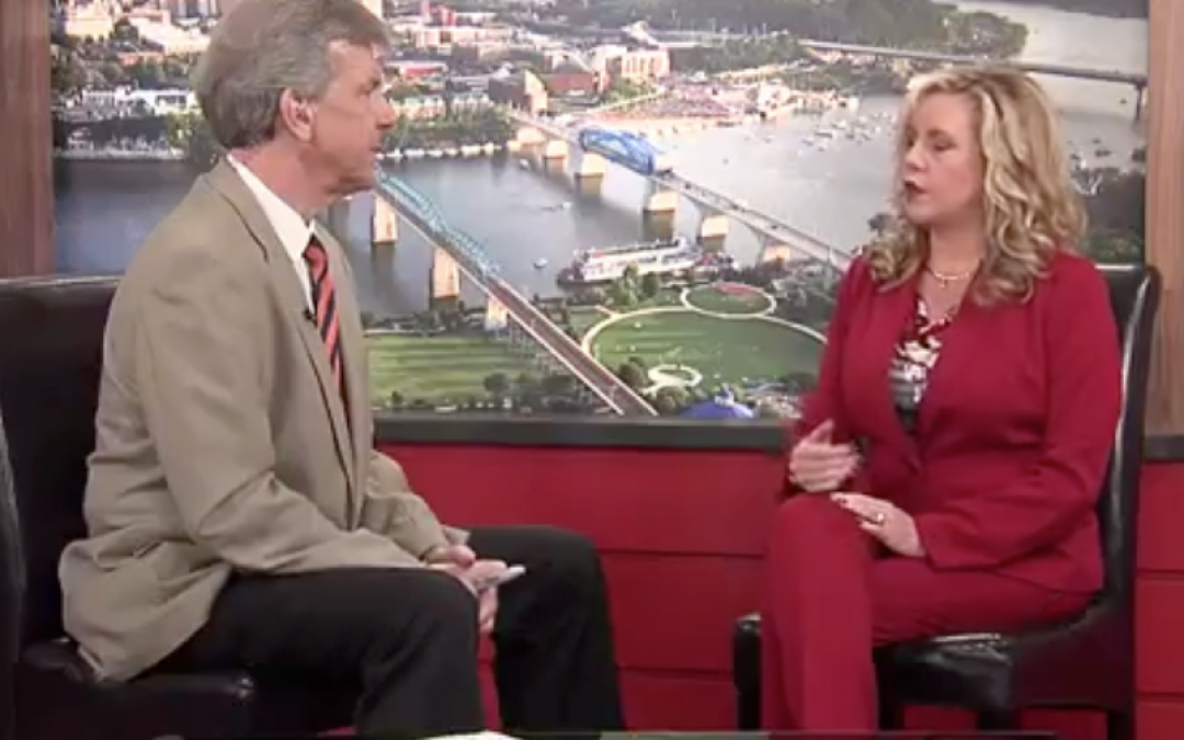 Compass President Paige Holt on WDEF News 12's Let's Chatt