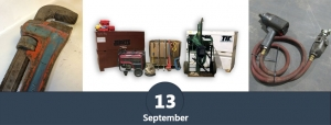 September 13 public auction online only