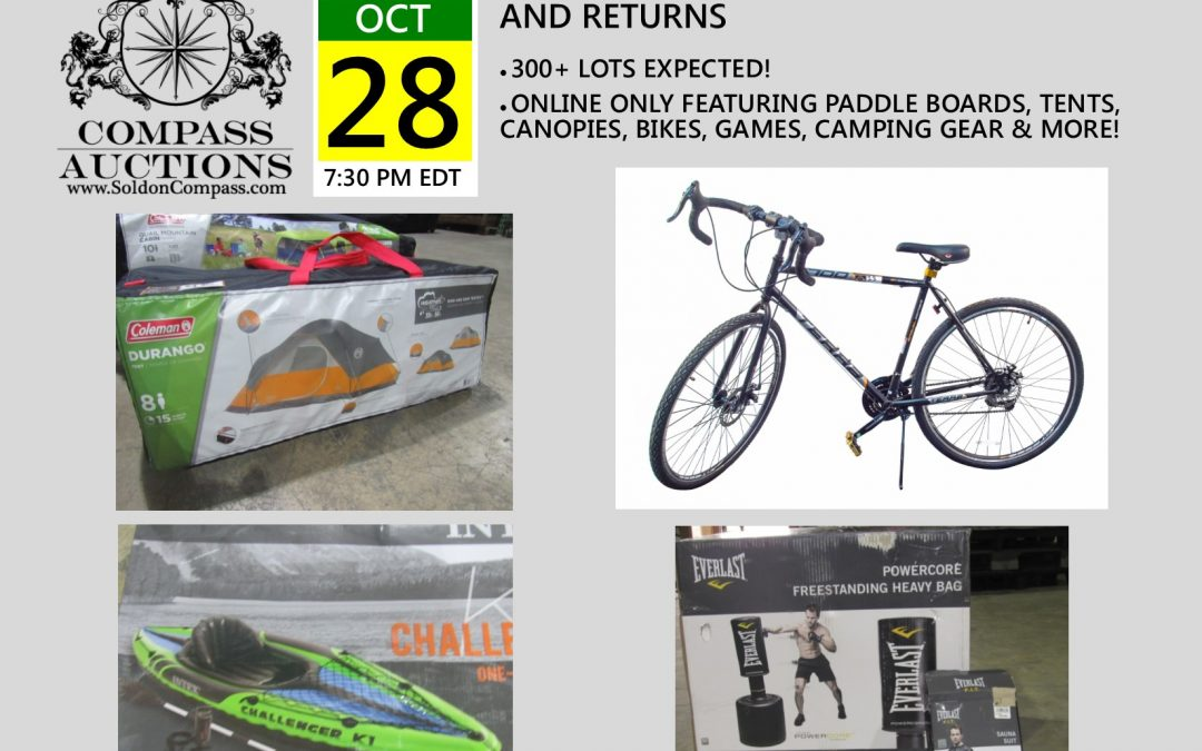 Large Sporting Goods Store Surplus & Returns