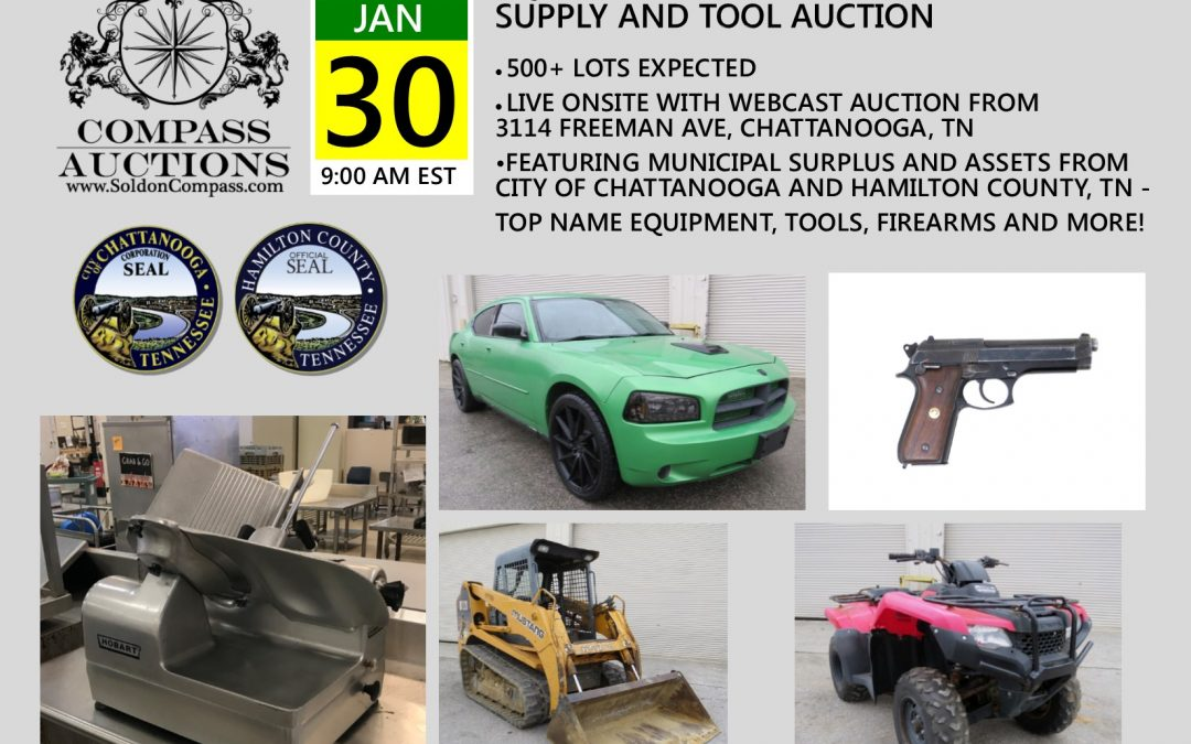 Equipment, Vehicles, Restaurant Supply and Tool Auction