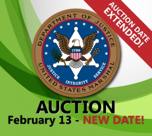 united states marshals auction February 2019 real estate government