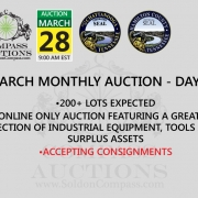March monthly online auction Compass