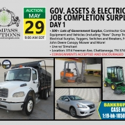 May 2019 Live Online Public Auction Municipal Freightliner Dump Truck Bankruptcy Sentra Vehicles Transport Truck