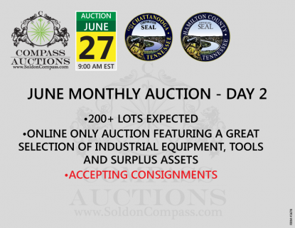monthly online auction Compass
