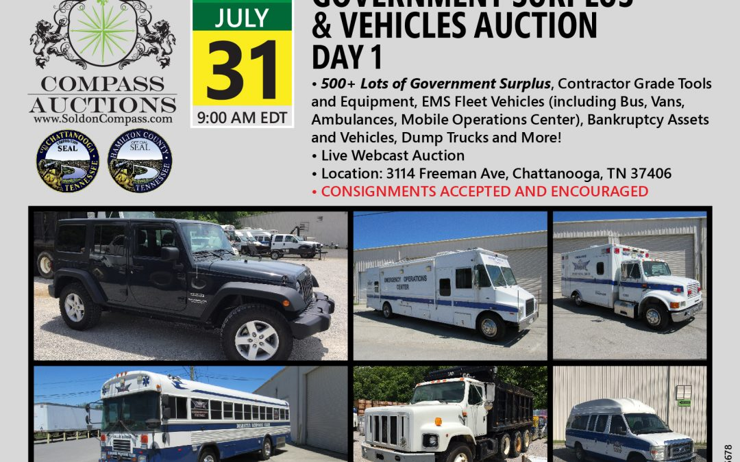 July Monthly Auction – Day 1
