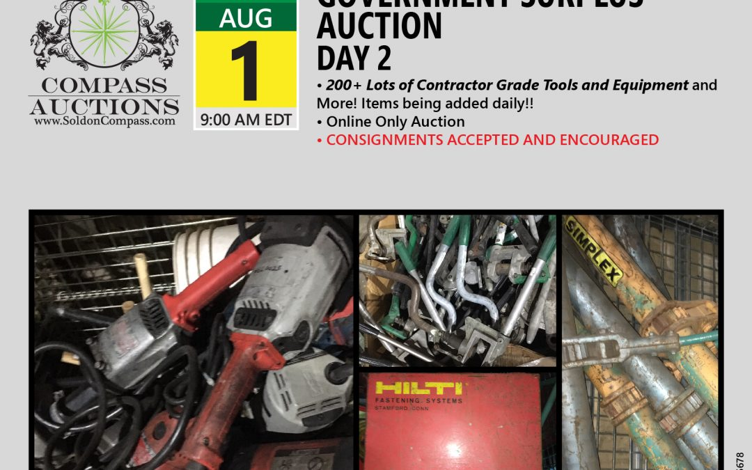 July Monthly Auction – Day 2