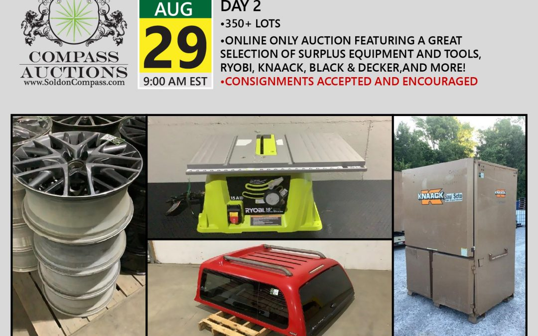August Monthly Auction – Day 2