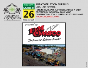 March FM Mafco Construction Equipment Auction Compass online