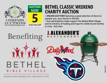 Bethel Bible Village Classic Weekend Charity Auction May 2019