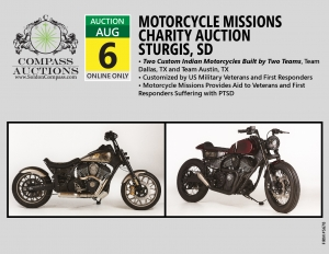 August 2019 Motorcycle Missions Auction Sturgis