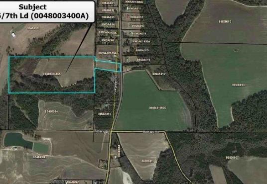 LL 146/7th LD (54.69 Acres), Sylvester, GA, 31791