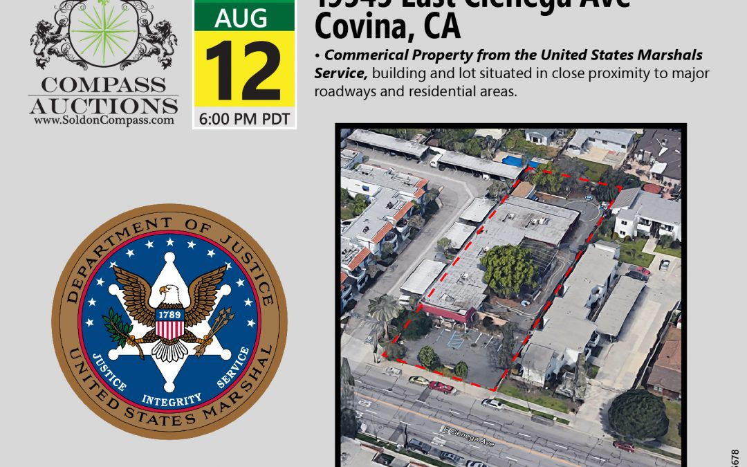 Covina CA USMS Property Auction