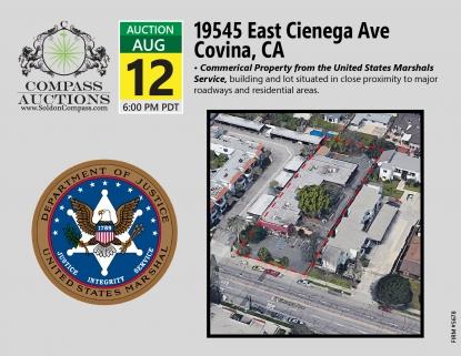 19545 East Cienega Ave Covina CA August Auction Unites States Marshals Service