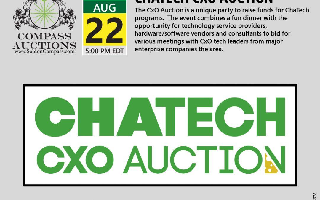 ChaTech CXO Auction 2019