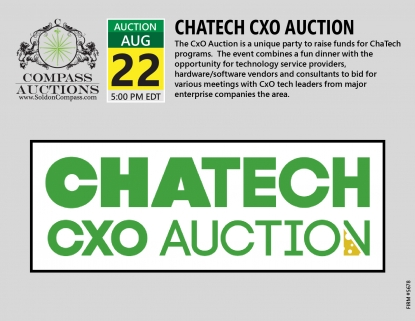 ChaTech CXO Auction 2019 Compass Auctions