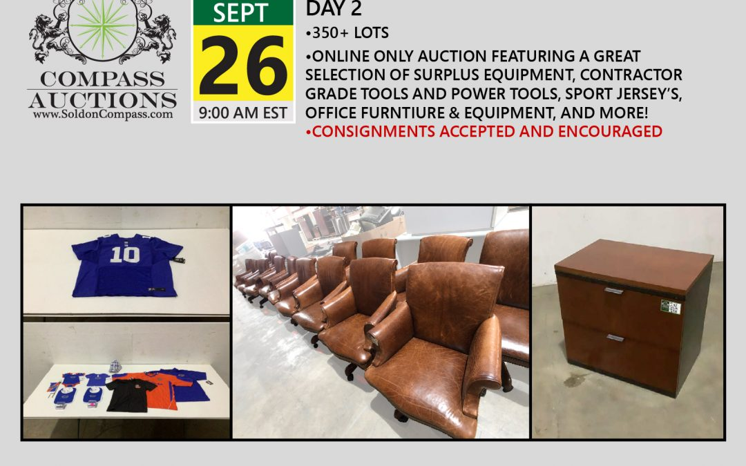 September Monthly Auction – Day 2