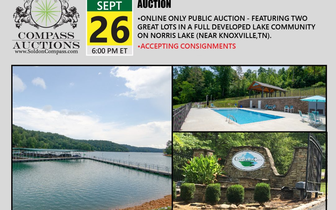 Norris Lake – Clearwater Cove Lots – Real Estate Auction