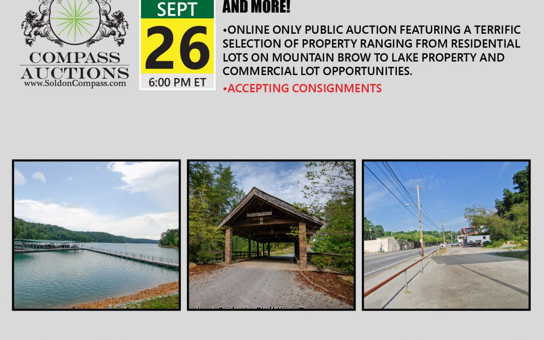 Majestic Mountain Lot, Lake Property and More!