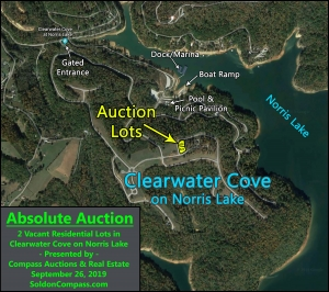 Clearwater Cove on Norris Lake – Lot # 626