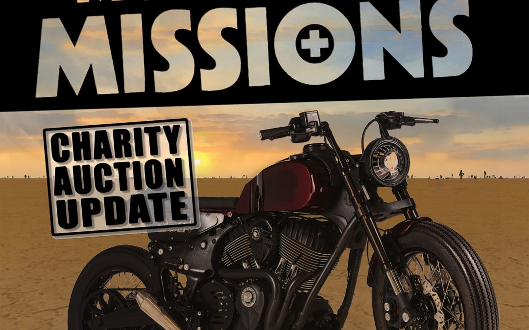 Motorcycle Auction Raises $69,000 to Help Vets and First Responders