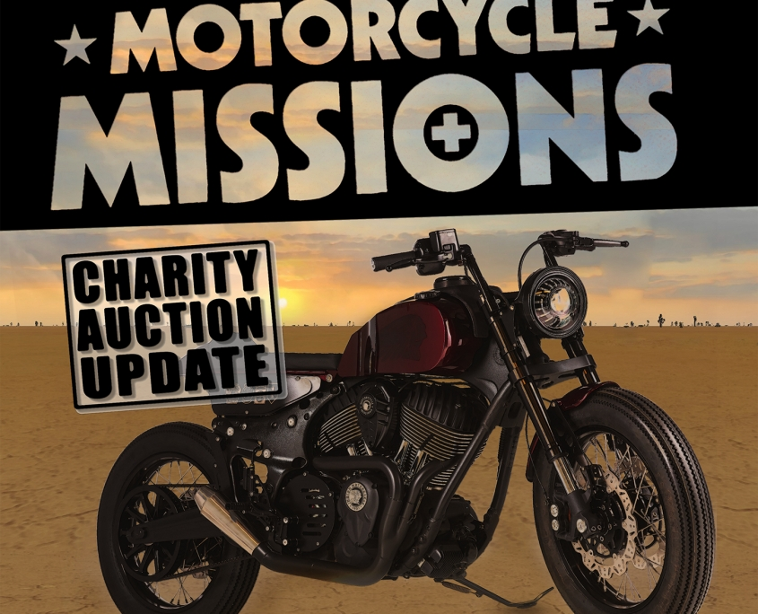 Motorcycle Missions Auction in Sturgis, SD