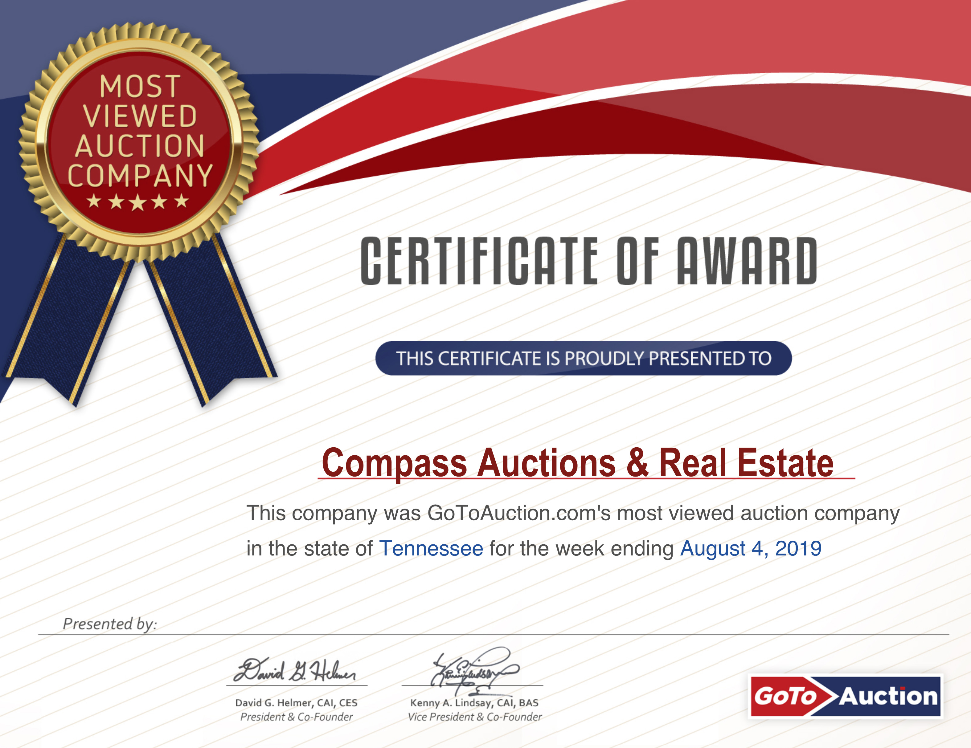 Auctions Archives - Compass Auctions and Real Estate