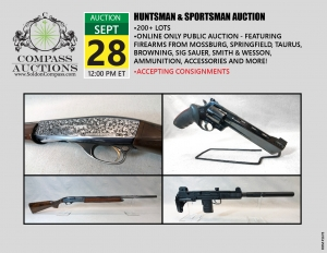 September 2019 firearms sportsman huntsman public auction