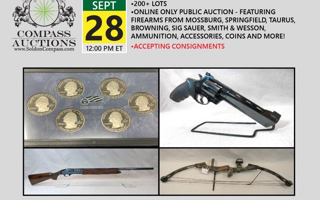 Huntsman and Sportsman Auction