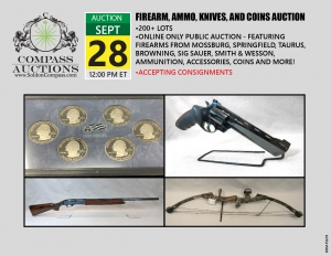 September Online Only Firearms Public Auction
