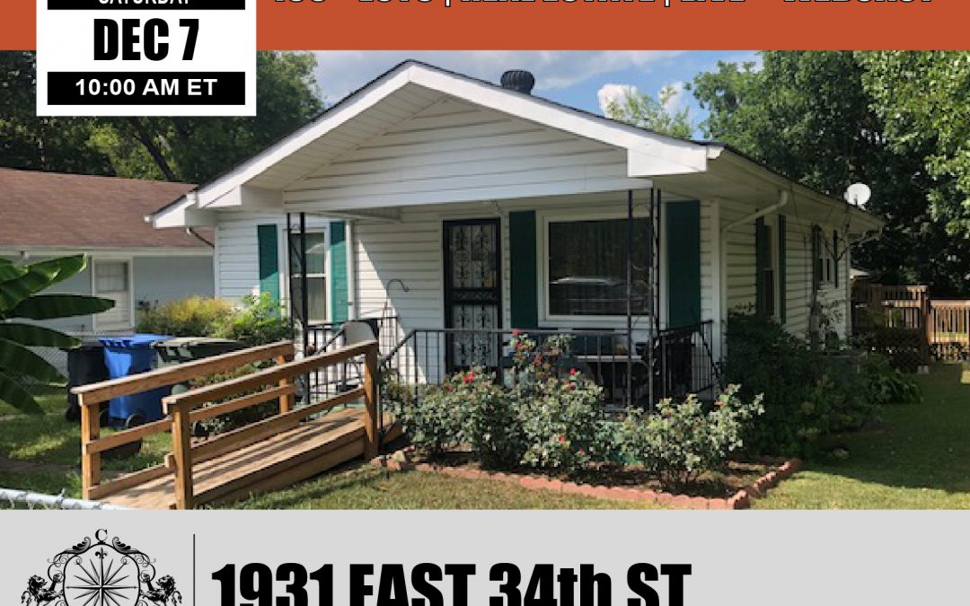 1931 East 34th St Chattanooga Real Estate Auction