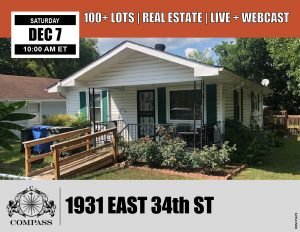 1931 East 34th St Chattanooga Real Estate Auction Public