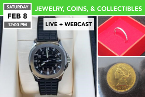FEB. 8, 2020 Jewelry, Coins, & Collectibles Auction