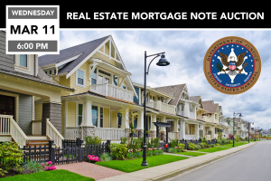 US Marshals Real Estate Note Auction March 11, 2020
