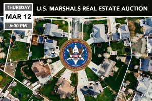 US Marshals Real Estate Auction March 12, 2020