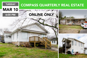 Compass Quarterly Real Estate Auction 3/10/2020