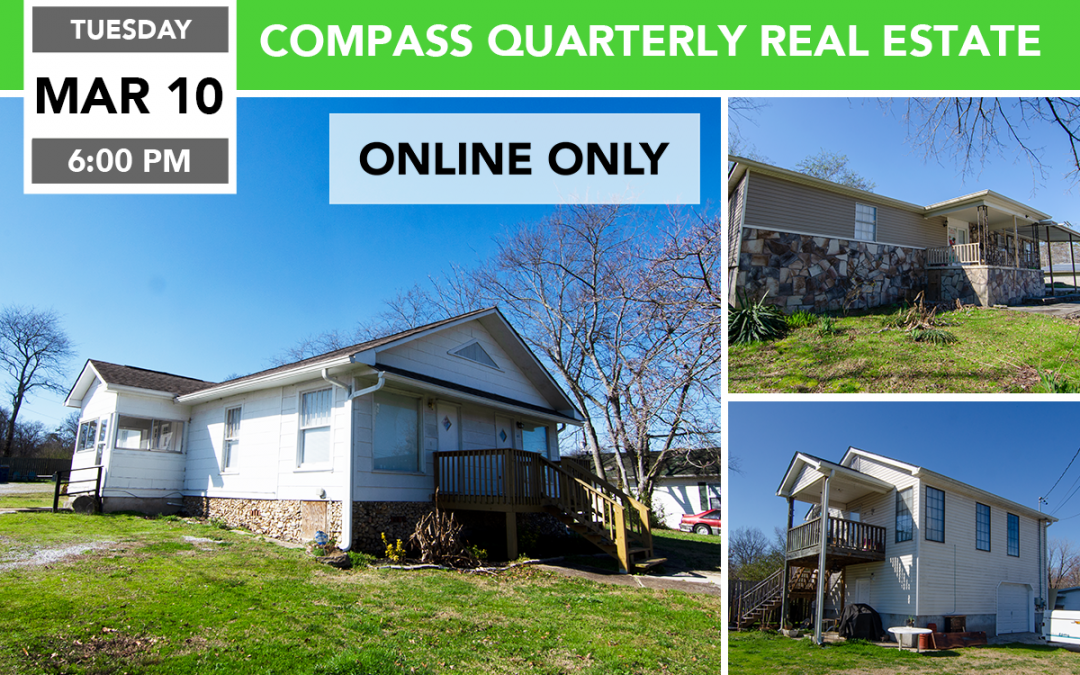 Compass Quarterly Real Estate Auction