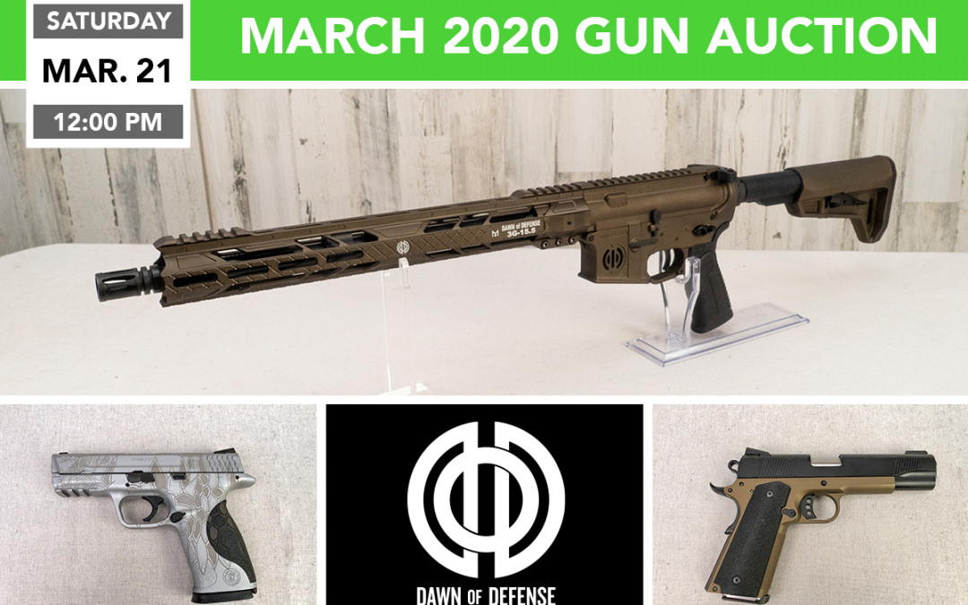 March 2020 Gun Auction