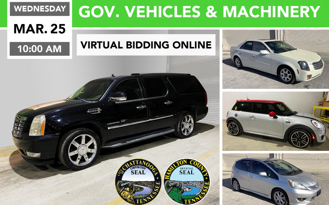 Government Vehicles, Machinery, & Surplus Auction – Day 1