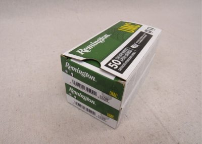 (qty - 100) Rounds of Remington 9mm Ammo